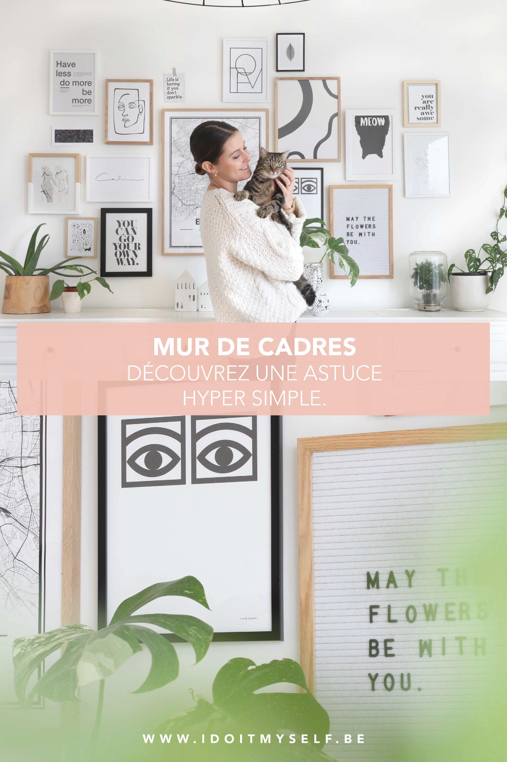 Pourquoi ne pas créer un joli mur de cadre pour habiller votre intérieur? Je v…