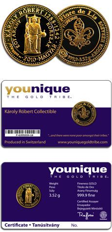 Gold 3.52 Grams Charles Robert Collectible