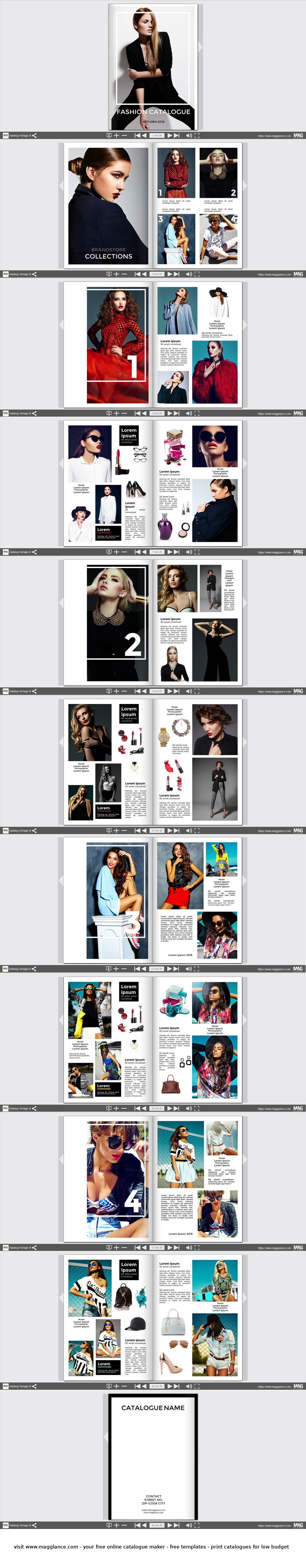 Fashion Katalog kostenlos online erstellen und günstig drucken ...