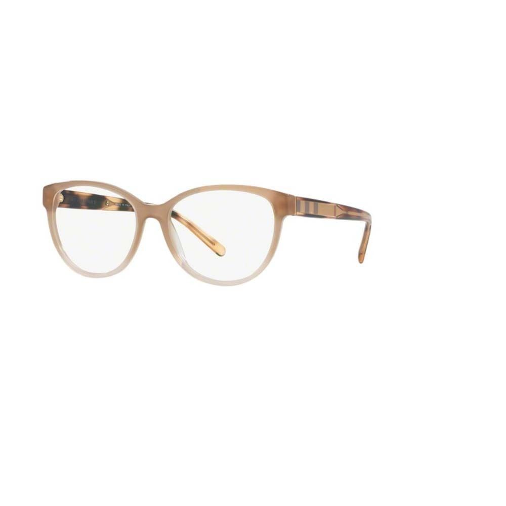 cc0f4858aca2 Burberry BE2229 3354 Gradient Beige Phantos Eyeglasses w/ 54mm Lens ...