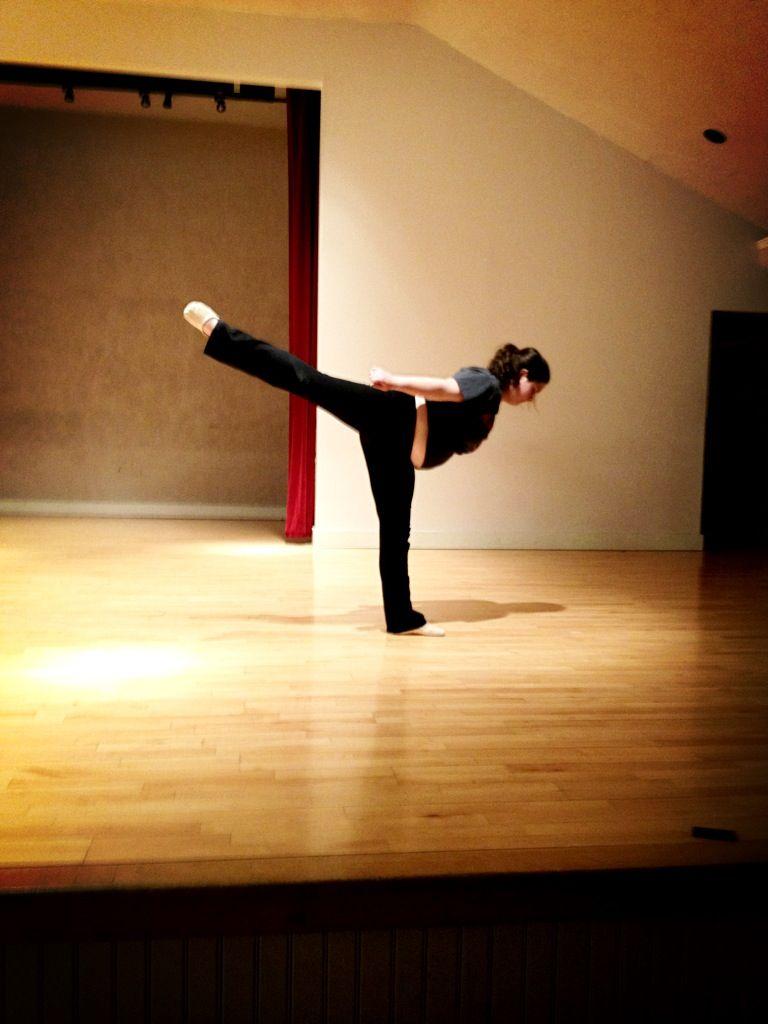 Megan Taylor! Pretty arabesque!!! Ballerina! The best!