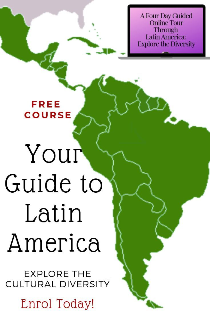 Free Mini Course on Latin America - Over The Andes