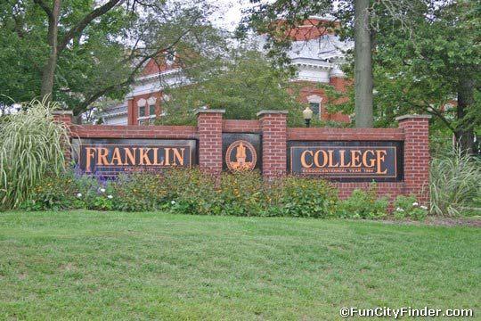 Franklin-College-sign- | FRANKLIN | Franklin College, School