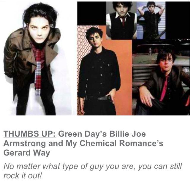 Billie Joe Armstrong and Gerard Way