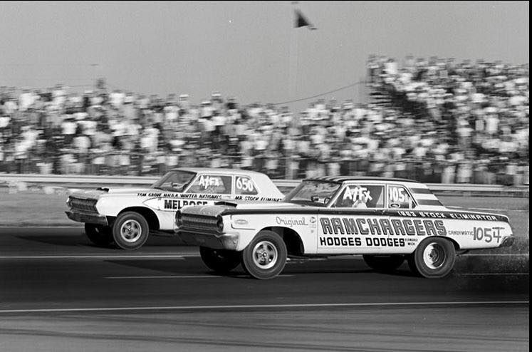 Two Of The First Altered Wheelbase Super Stocks A Fx Drag Racing Cars Car Humor Drag Racing