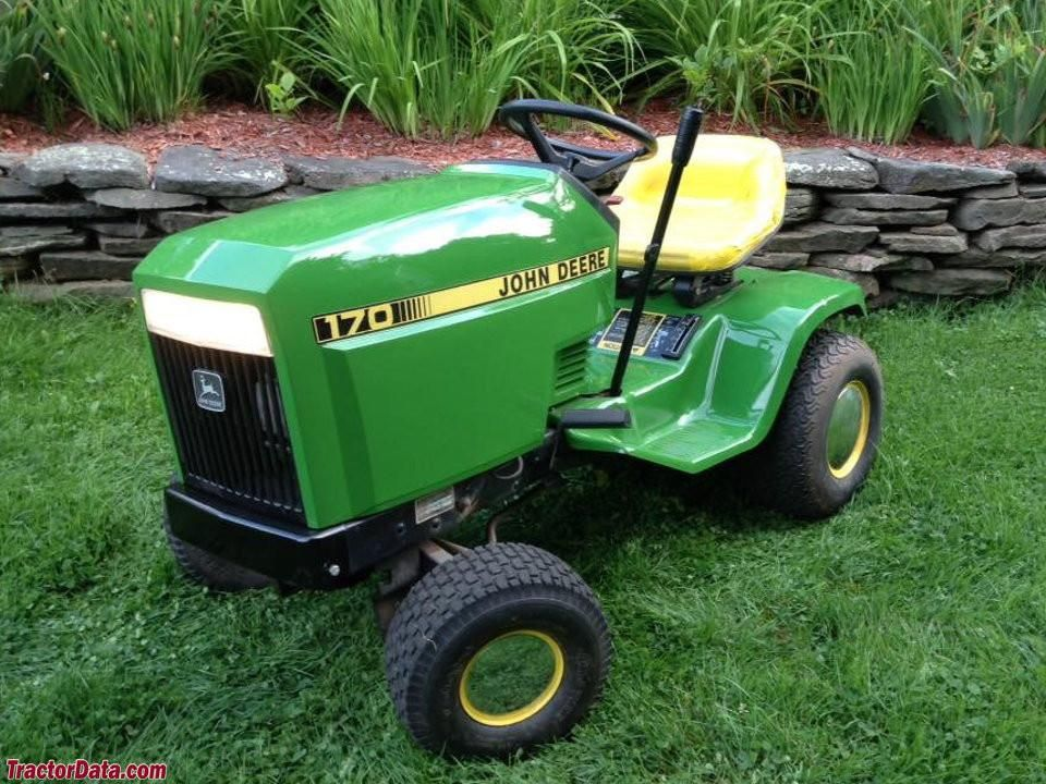 john deere model d170 lawn tractor service repair manual pinterest rh pinterest com