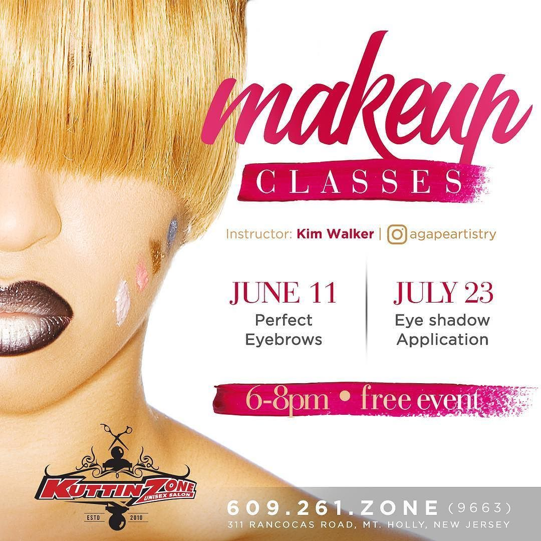 Today Free Makeup classes w/ agapeartistry at