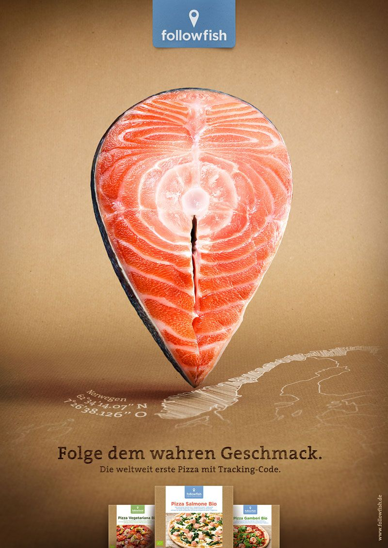 Adv / Leagas Delaney: Der Fisch-Locator von followfish
