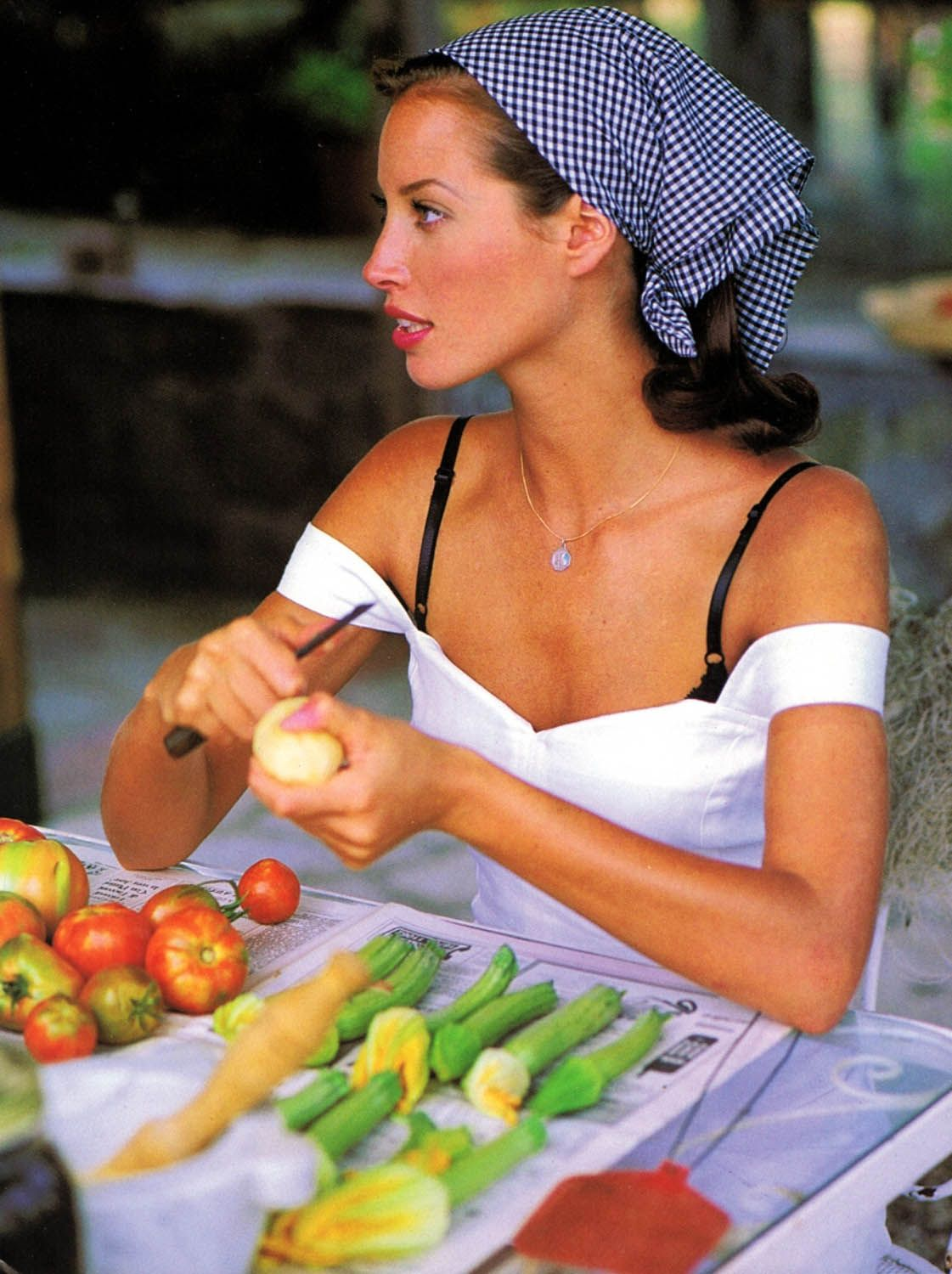 Christy Turlington by Arthur Elgort  Model  Pinterest  Christy