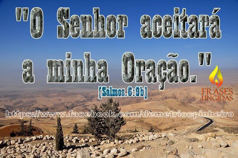 O Senhor Aceitará a Minha Oração!
