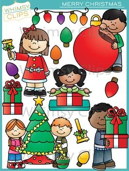 The Merry Christmas clip art set is a fun set that contains 39 image files, which includes 20 color images and 19 black & white images in png. All images are 300dpi for better scaling and printing.
