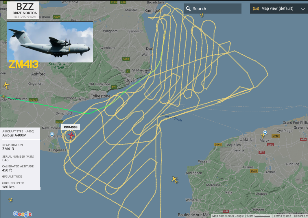 Troop Movements Over The Channel 10 8 2020 Troops 10 Things Aircraft