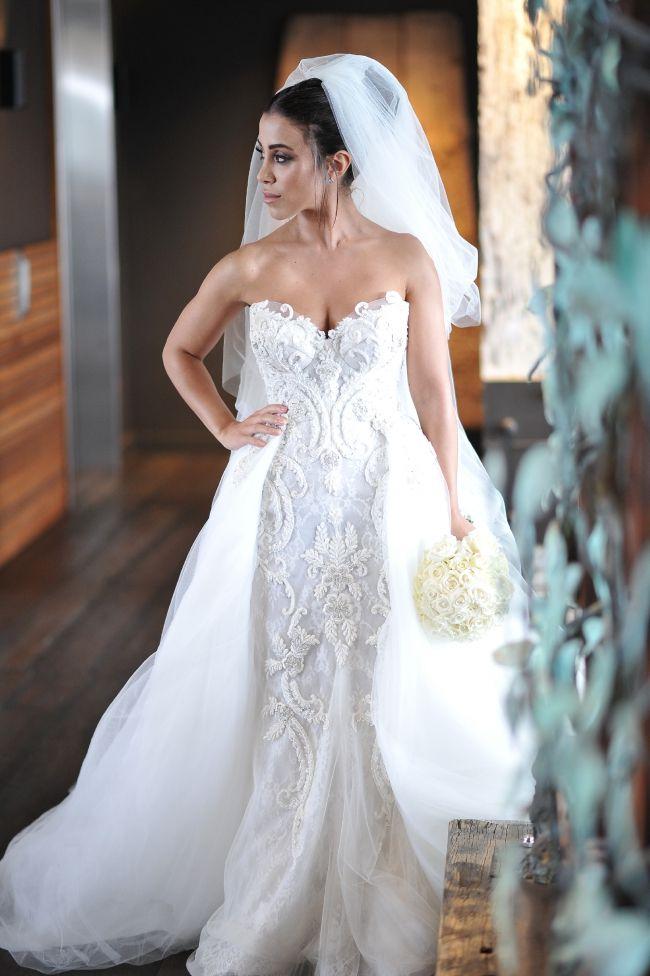 Cool Steven Khalil Custom Made Used Wedding Dress on Sale Off