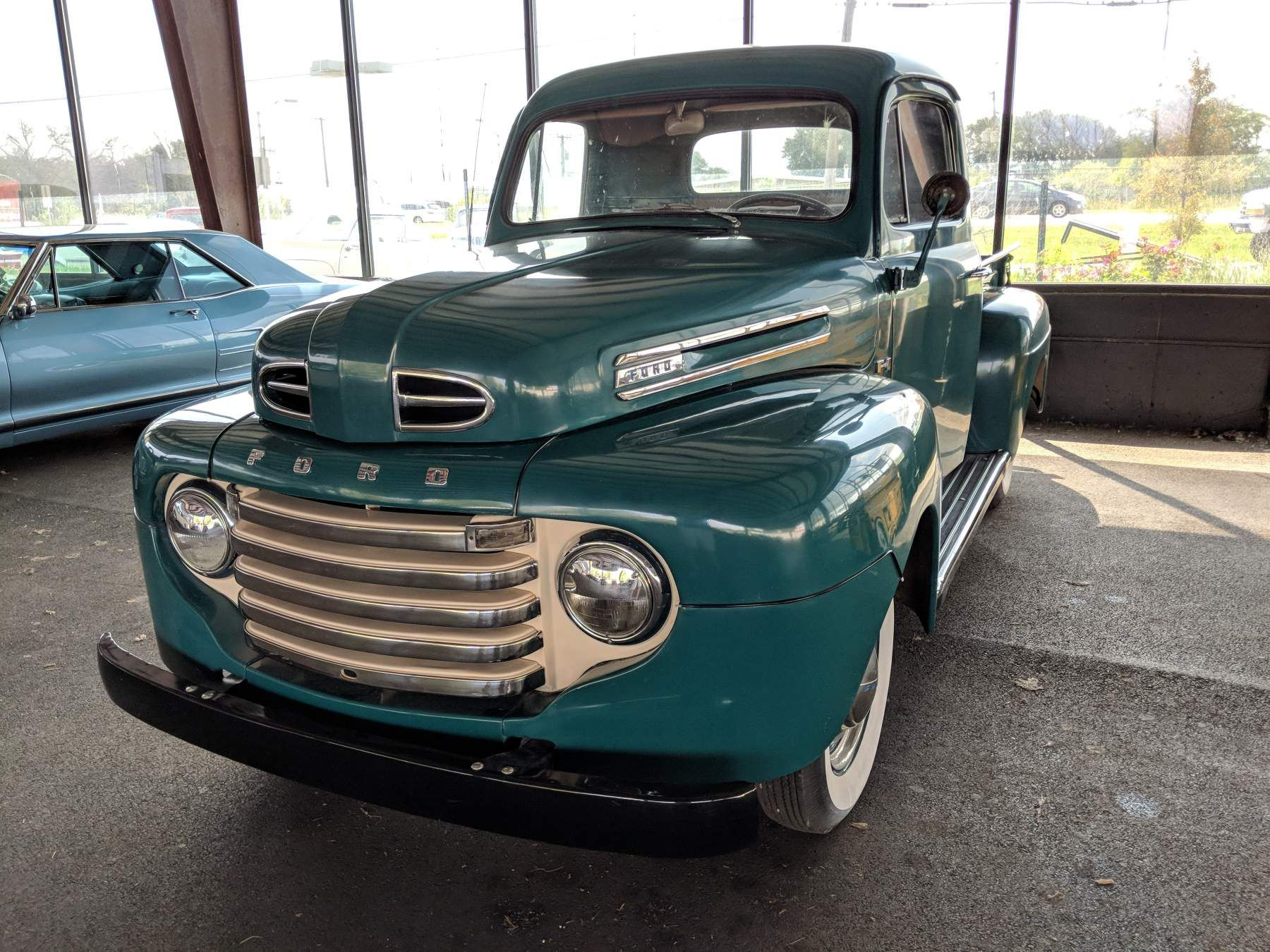 Pin By Tina Mcelroy On 1949 Ford F 1 With Images Ford Pickup