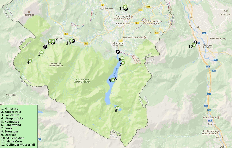Berchtesgaden Fotoguide Binmalkuerzweg Fotomotive Oberer See Urlaub Berchtesgaden