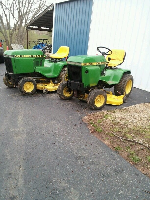 My John Deere 316 & 317 | Lawn and garden tractor
