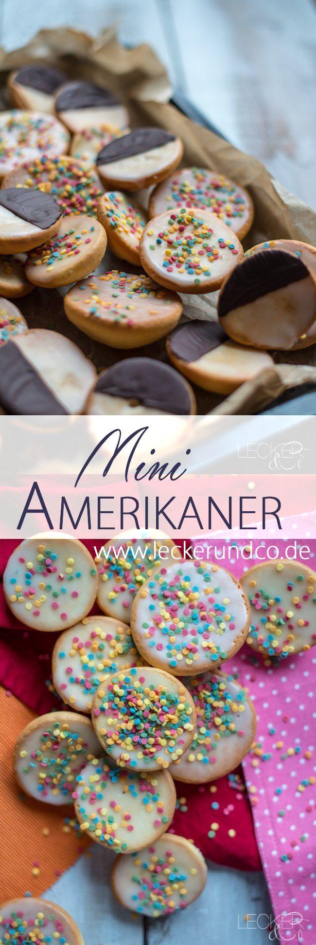 Mini Amerikaner | LECKER&Co | Foodblog aus Nürnberg