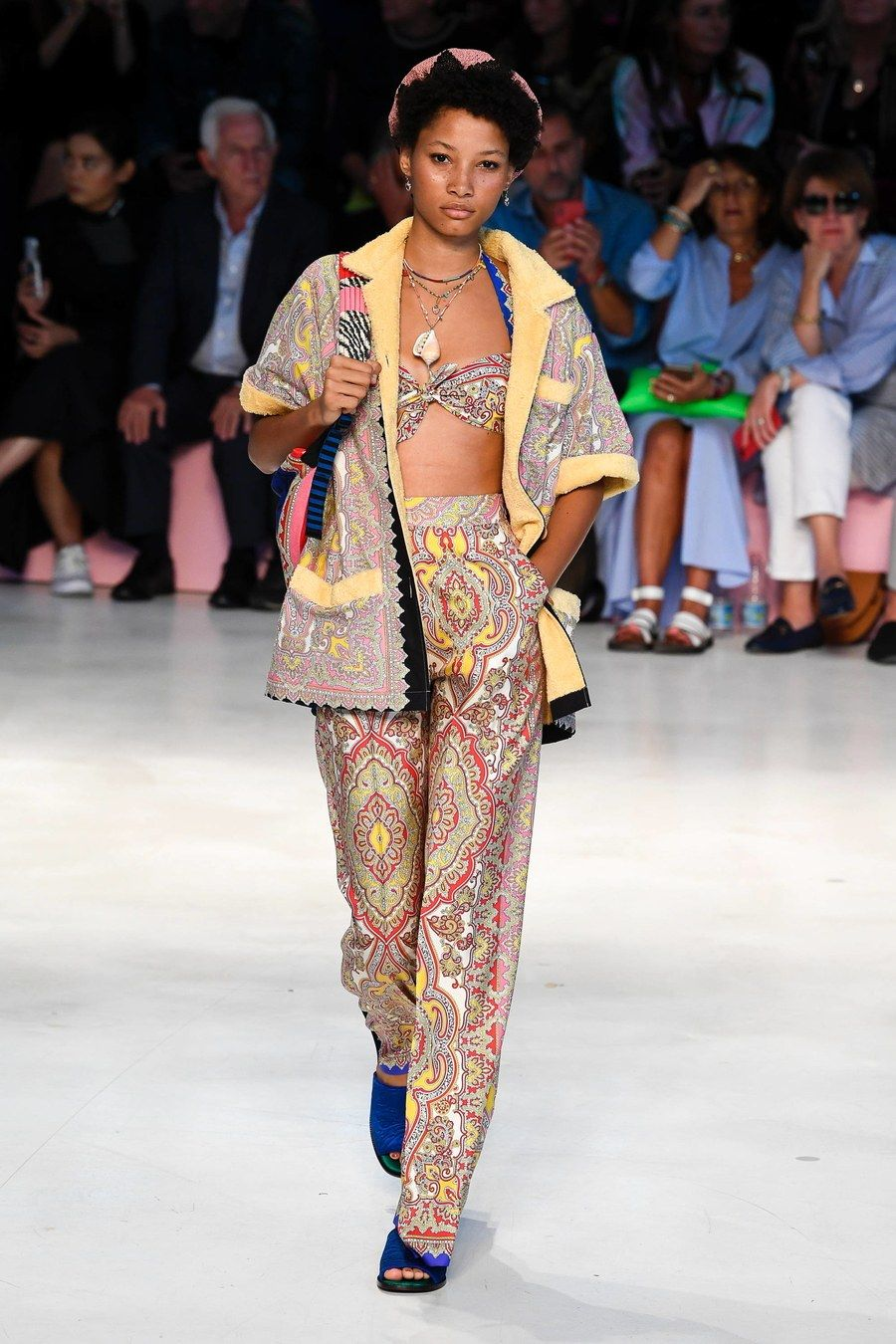 Fashion week Spring etro runway review for woman