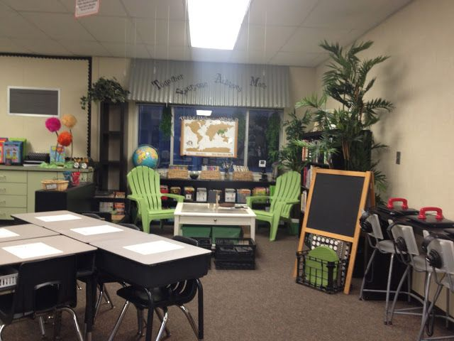 Growing in Second Grade: Classroom Design and Library using IKEA Furniture!