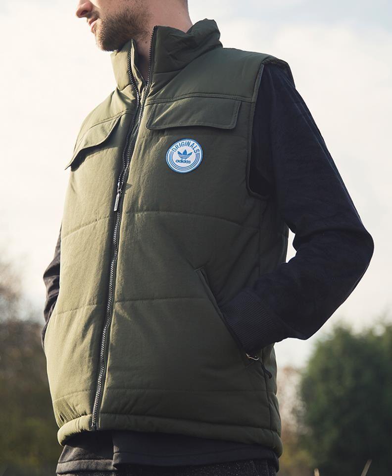 adidas Originals Praezision Gilet in 2019 | Winter jackets