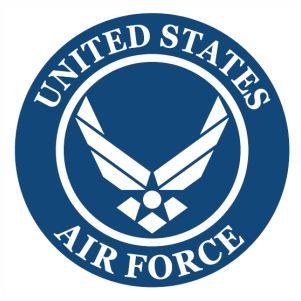 United States Air Force Logo Sign Vector Air Force United States Air Force Military Quotes