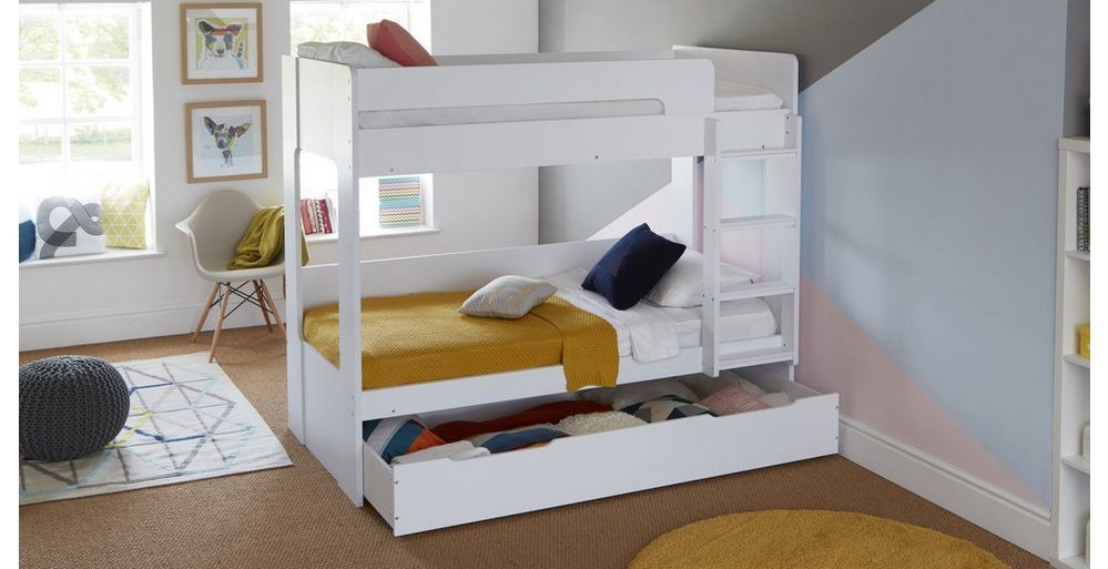 Madison Bunk Bed With Underbed Storage Dfs Ireland Bedroom