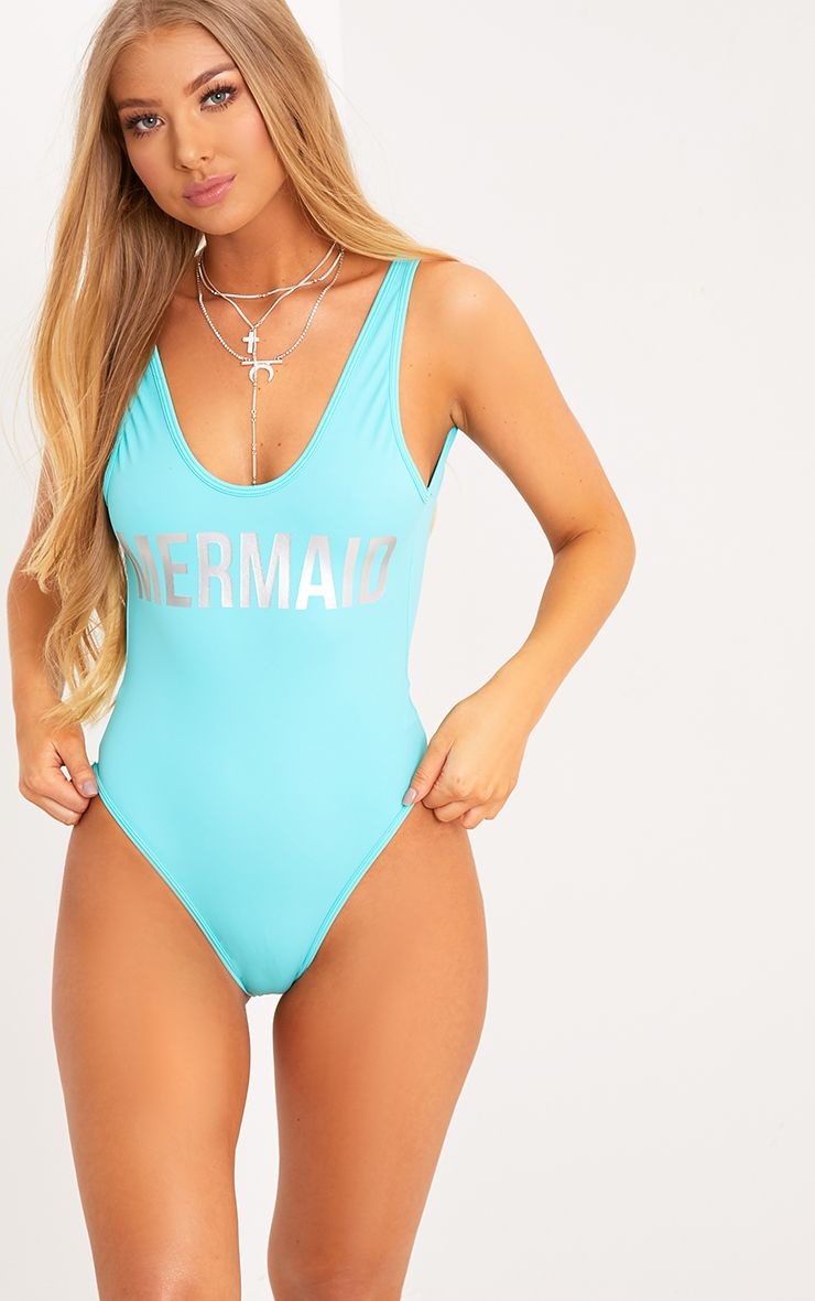 f2639f7ab1 Angela Baby Blue Mermaid Swimsuit | Companies in 2019 | Mermaid ...