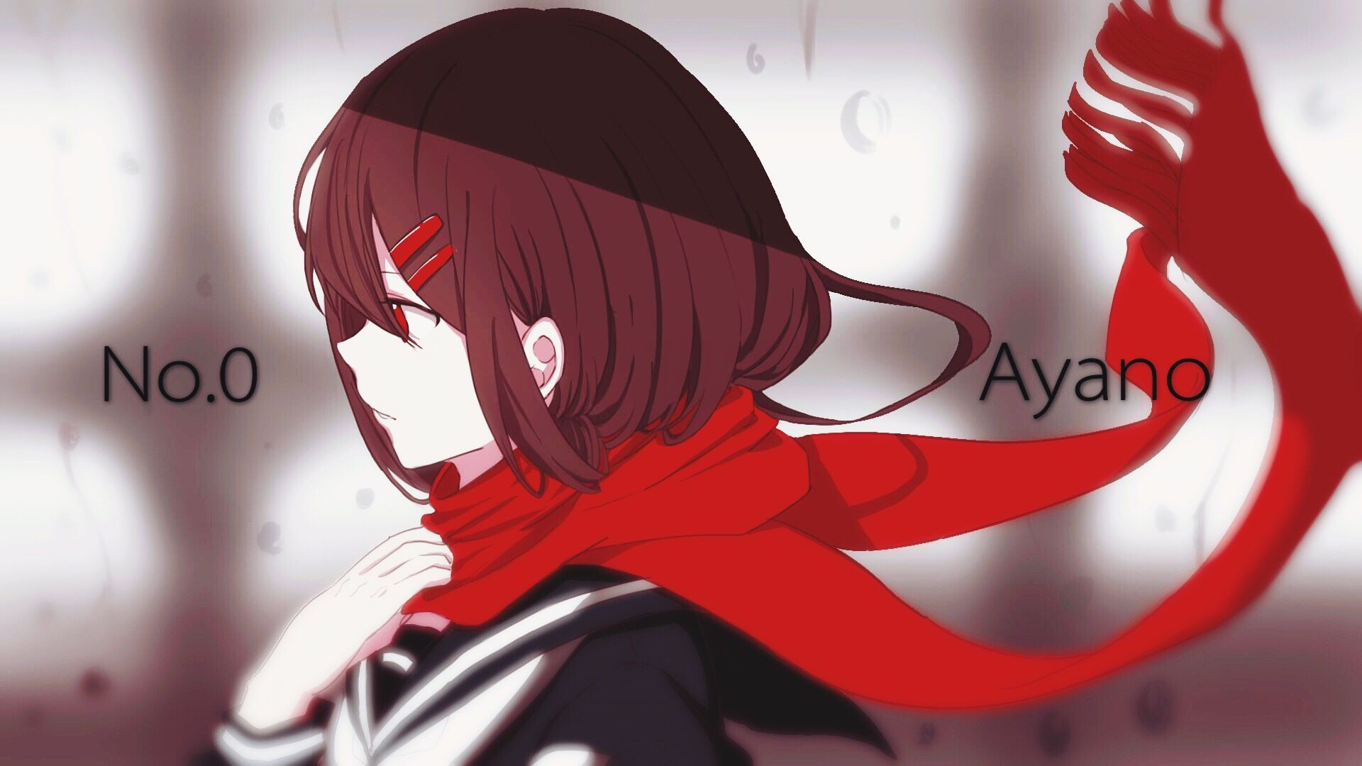 Tateyama Ayano Solo Sideview Scarf Tateyama Kagerou Project Anime