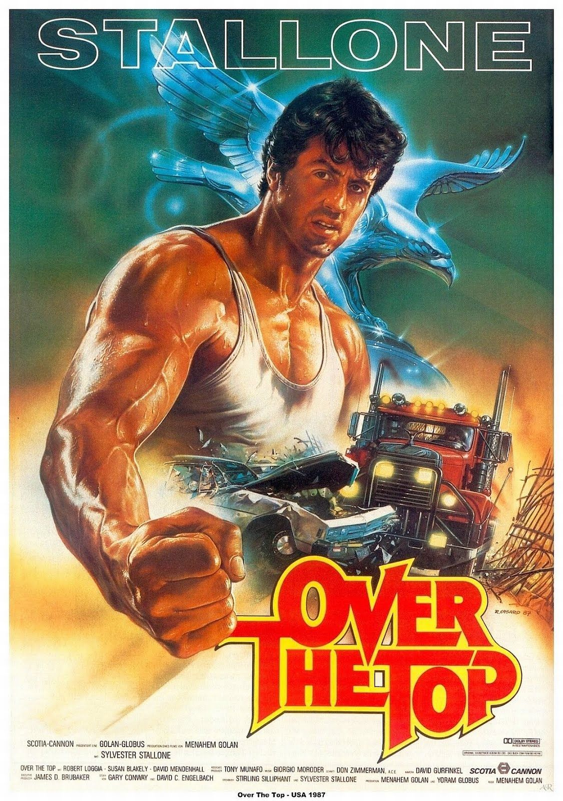 """Trucker Movies: """"Over the Top"""" with Sylvester Stallone"""