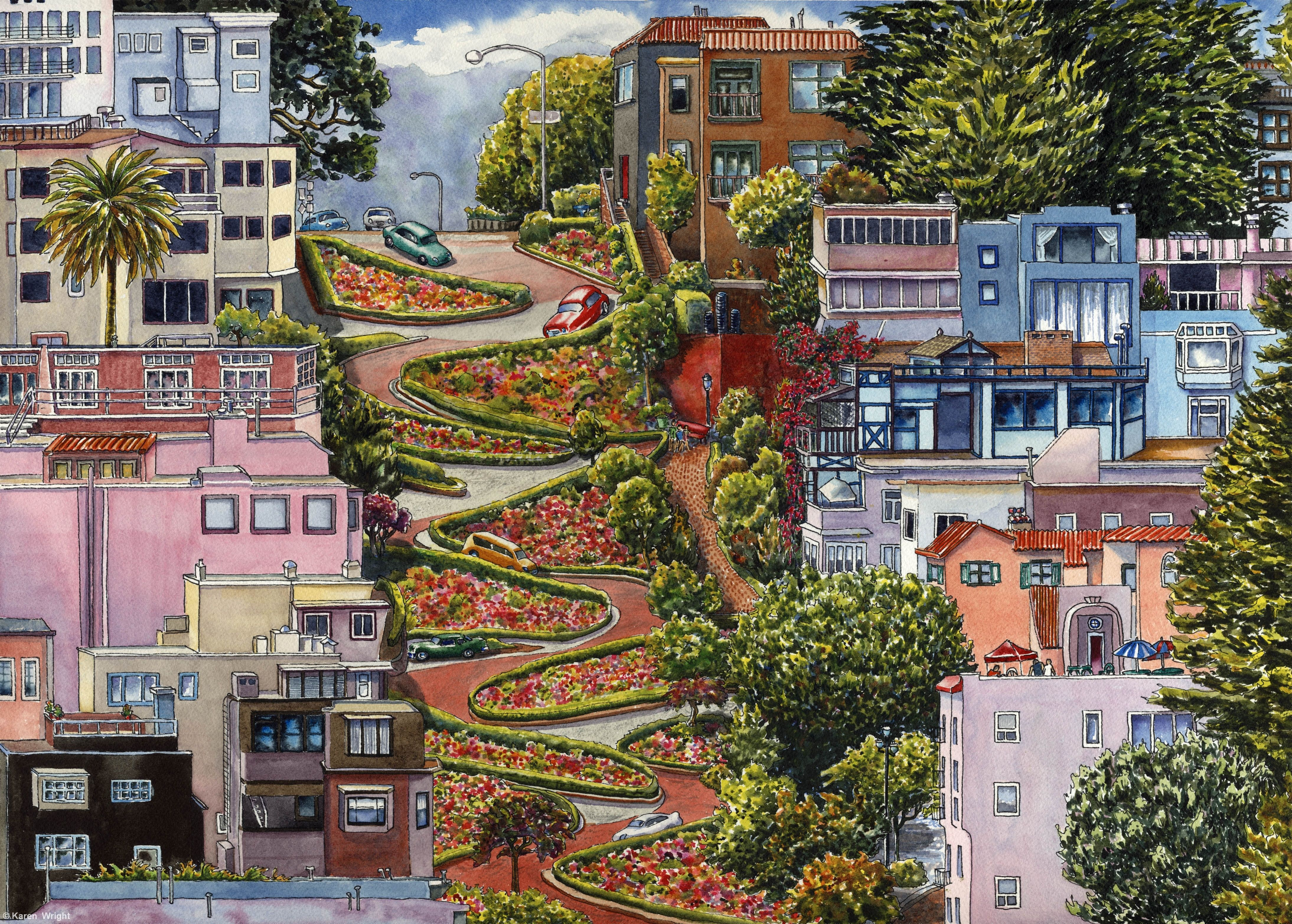 Image result for San Francisco Lombard Street