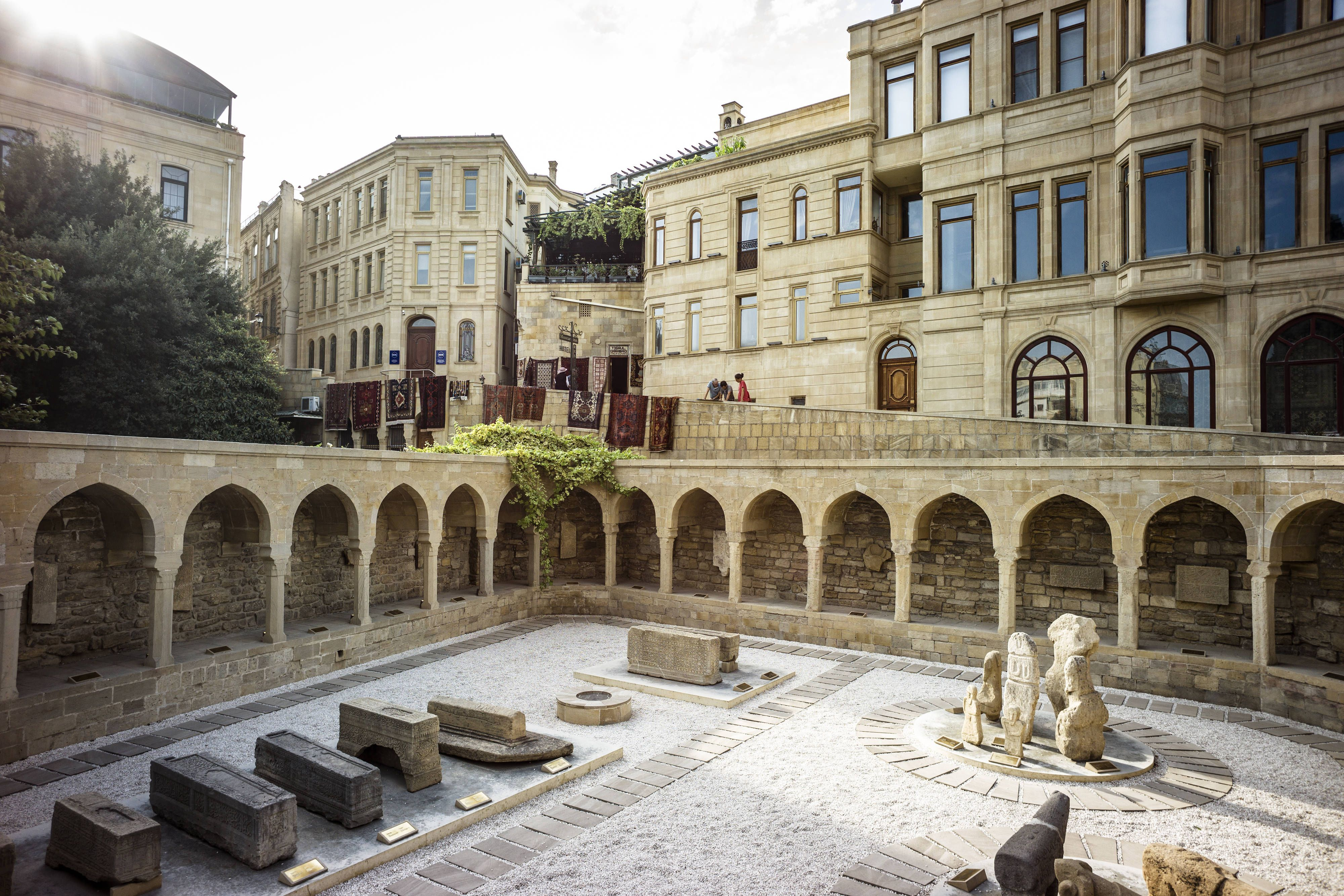 Intourist Hotel Baku Autograph Collection Old City Baku Guestroom Travel Memorable Hotel Historical Place Europe Travel