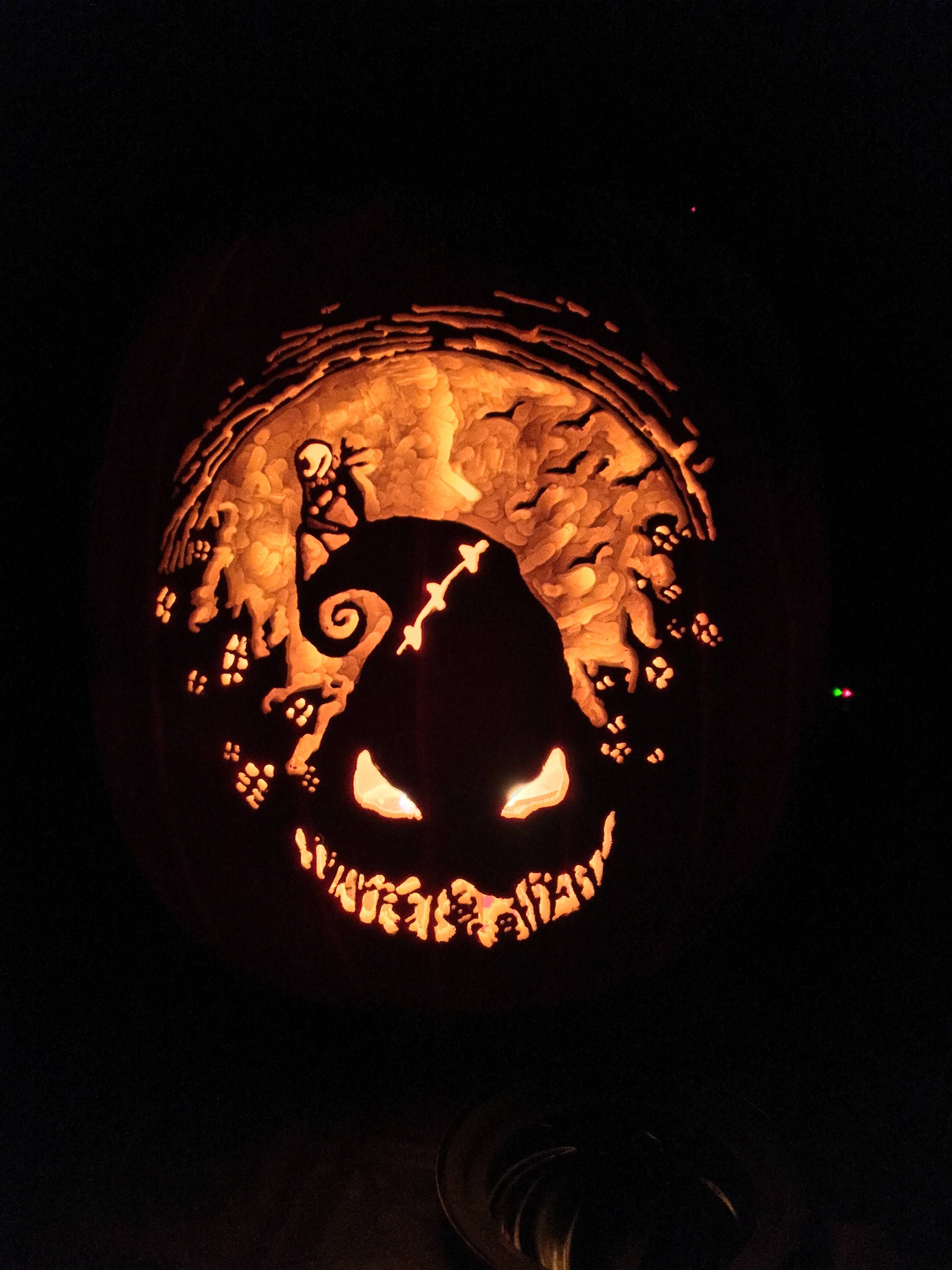 My First Disney Pumpkin: Nightmare Before Christmas | All Hallows ...