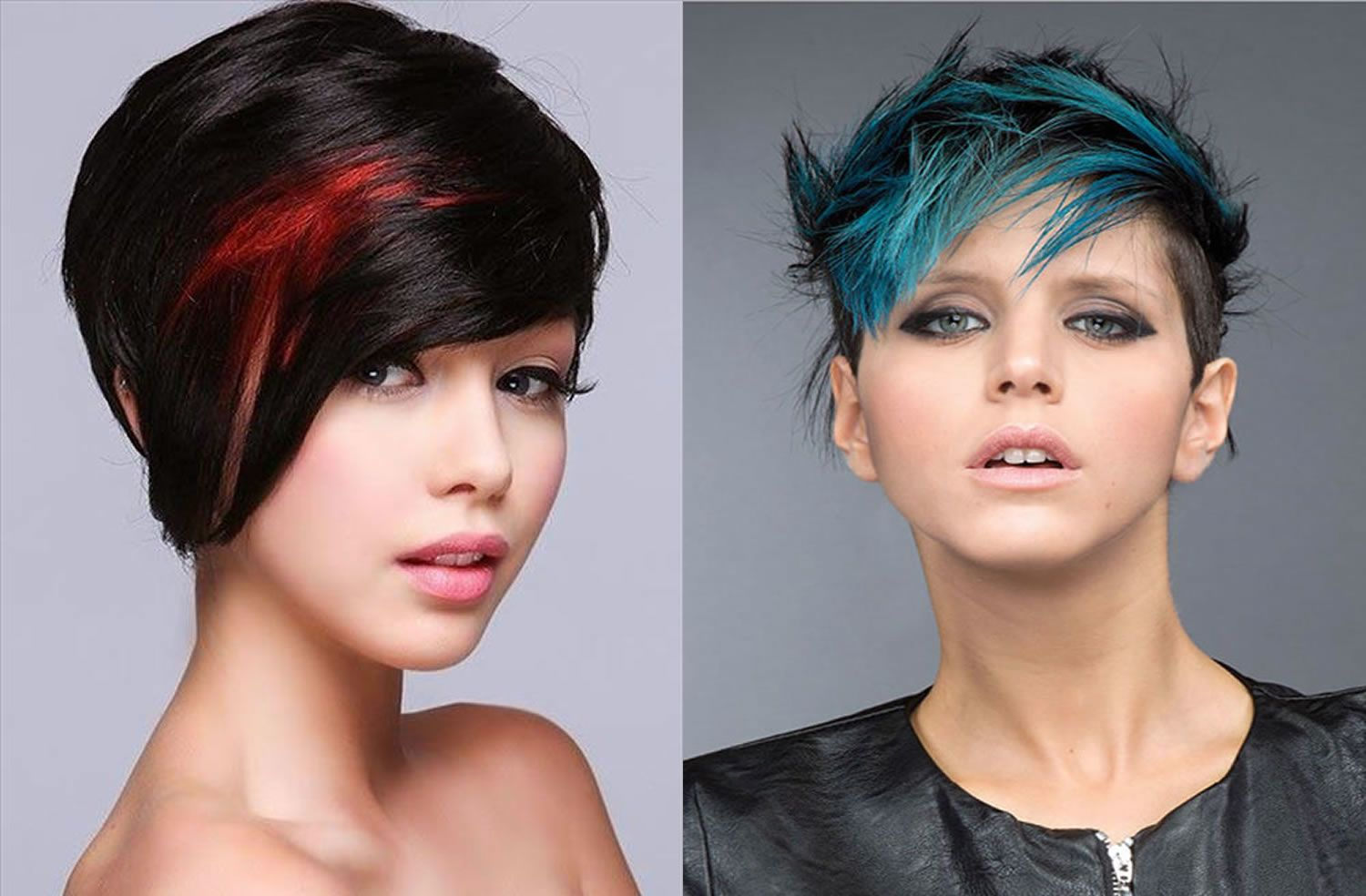 colored hair models best colorful hair styles