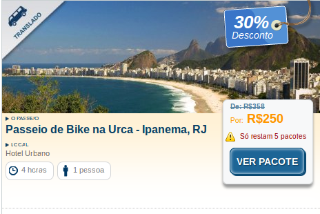 Visit this beautiful #place, Bike ride in Urca - #Ipanema, #Rio de Janeiro by visiting www.hotelurbano.com.br and save up to 30% as well.