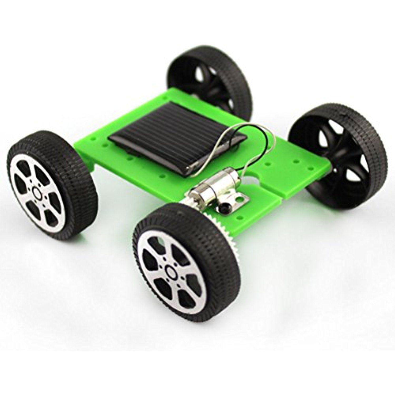 Educational car toys  Dengguoli NEW ARRIVE Solar Powered Car Toys Model Mini Assemble DIY