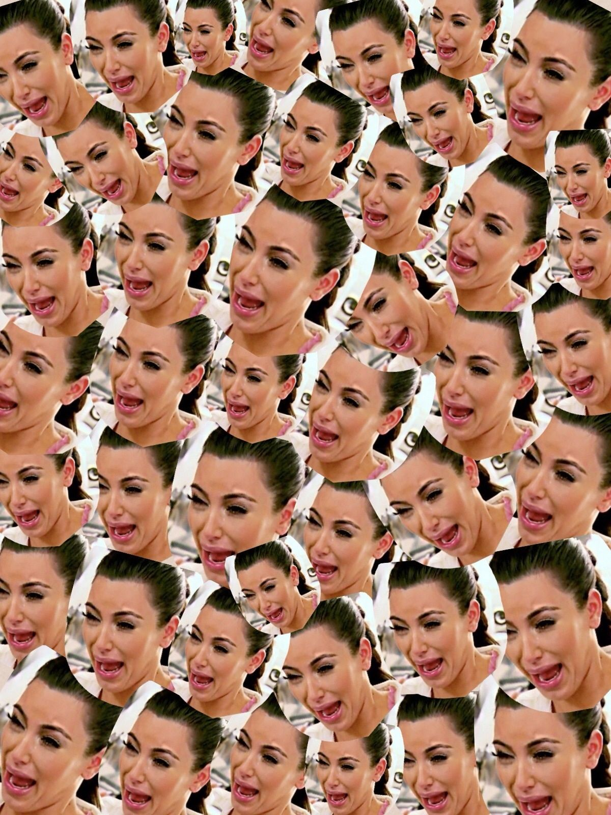 Finals Week As Told By Kim Kardashian S Crying Face Kim K Crying Face Kim Kardashian Cry Crying Face