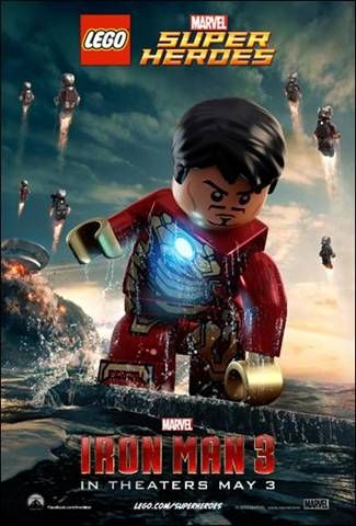 Iron Man 3 Lego Lego Iron Man Lego Poster Lego Marvel Super Heroes