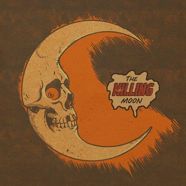 The killing moon, will come too soon. #100daysofhalloween #halloween #austinpardunart #drawlloween #halloweenaesthetic
