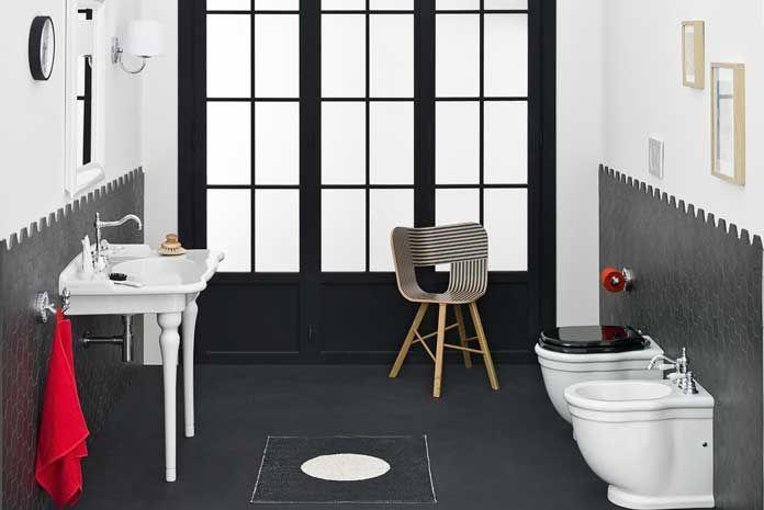 salle de bains carreler les murs mi hauteur - Hauteur Carrelage Salle De Bain