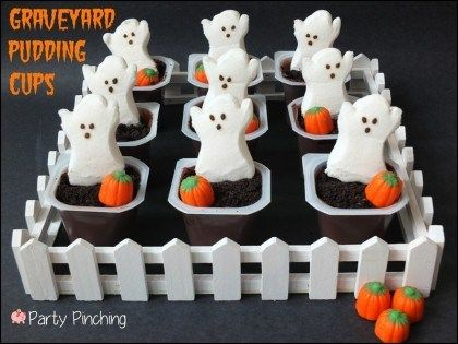 10 SPOOKtacular and Easy Halloween Appetizers and Desserts Easy - cute halloween treat ideas