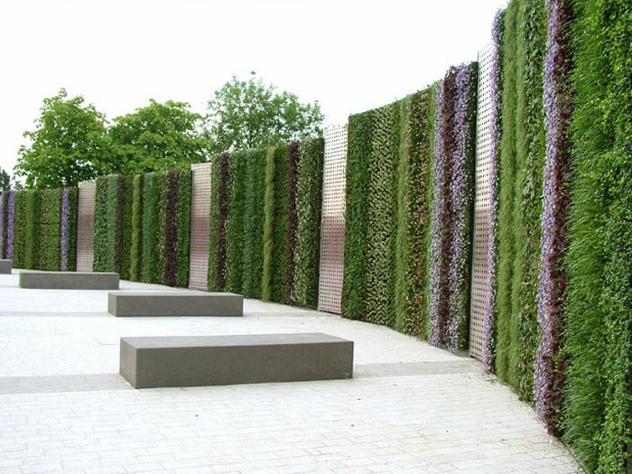 Jard n vertical project gallery the nec birmingham for Vertical green wall