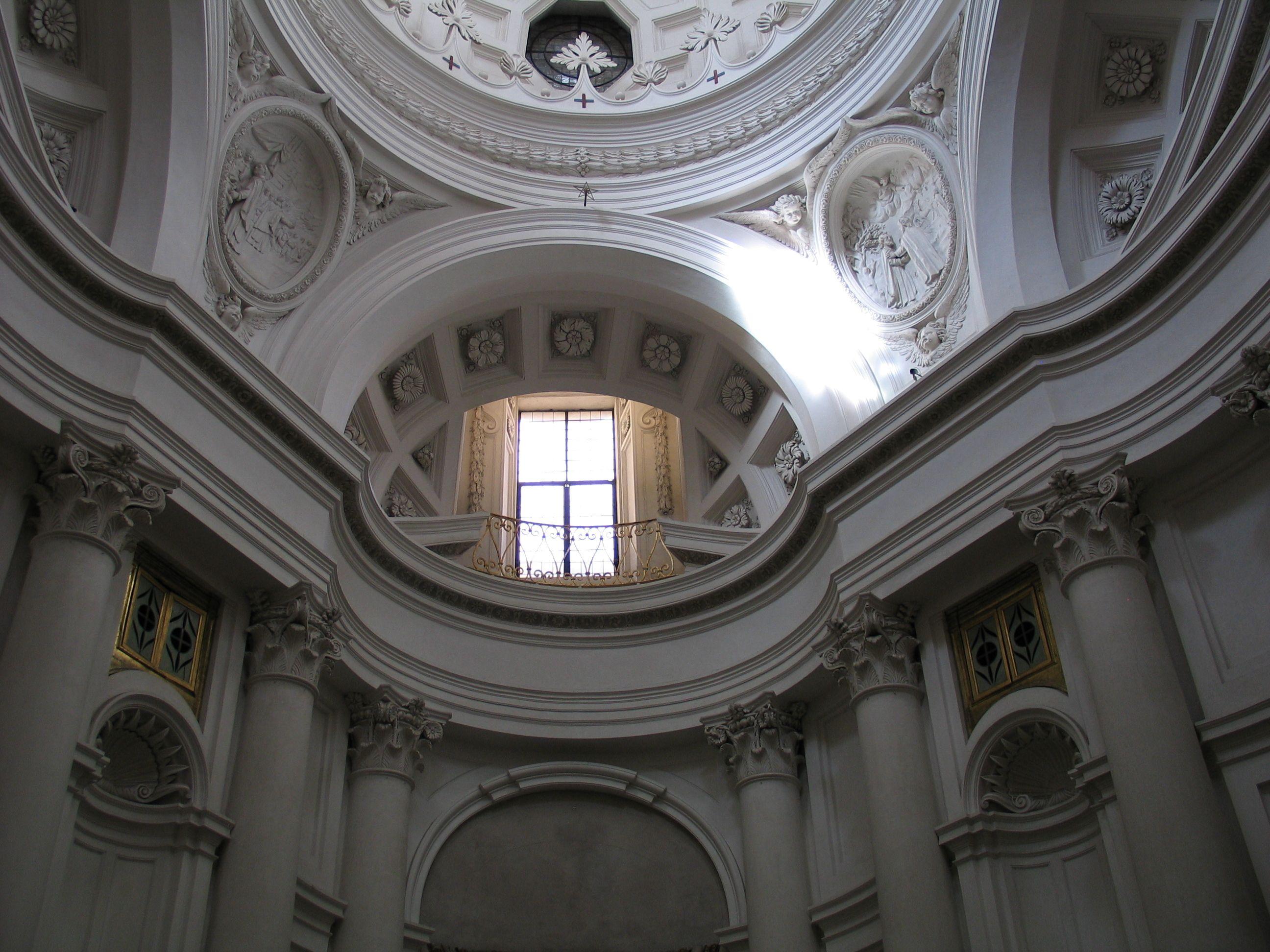 Borromini San Carlo alle Quattro Fontane Interior