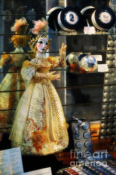 A beautiful ornament. The Doll Salzburg by Mary Machare. #artforsale #buyart #wallart