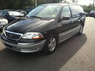 2003 Ford Windstar Wagon Sel 3 825 Mileage 150 257 Miles Exterior Black Interior Medium Graphite Leather Ford Windstar Wagon Vehicles