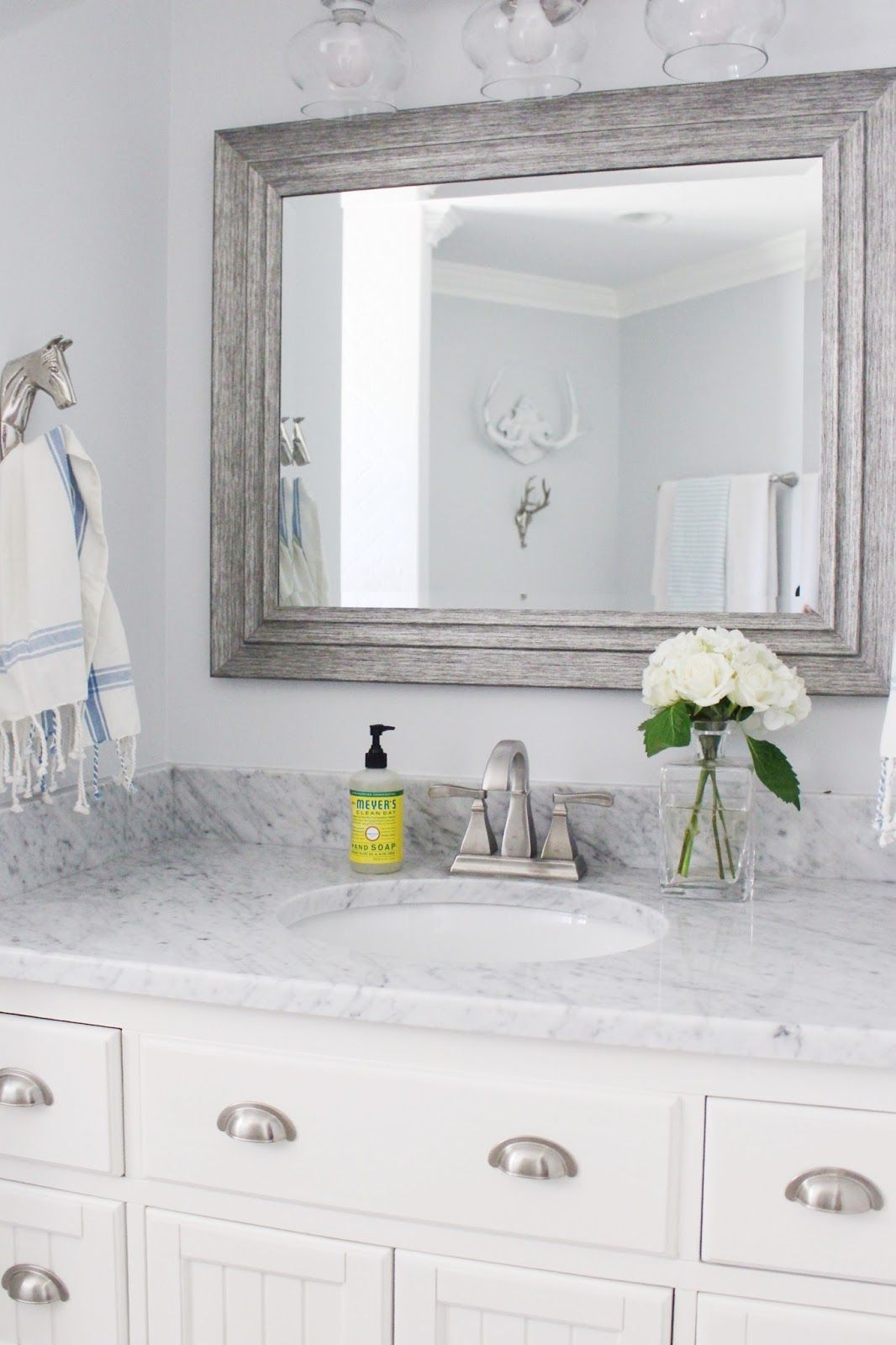Renovation Reveal: The Baby and Guest Bath | Guest bath, Lifestyle ...