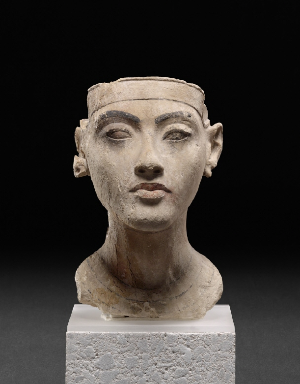 Bust of a King. Historical Dating: Amenhotep (Amenophis) IV / Akhenaten