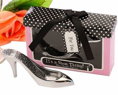 Oferta: 6.41€. Comprar Ofertas de Gracias novedad regalos para invitados zapato de tacón alto forma abridores de botella de vino barato. ¡Mira las ofertas!