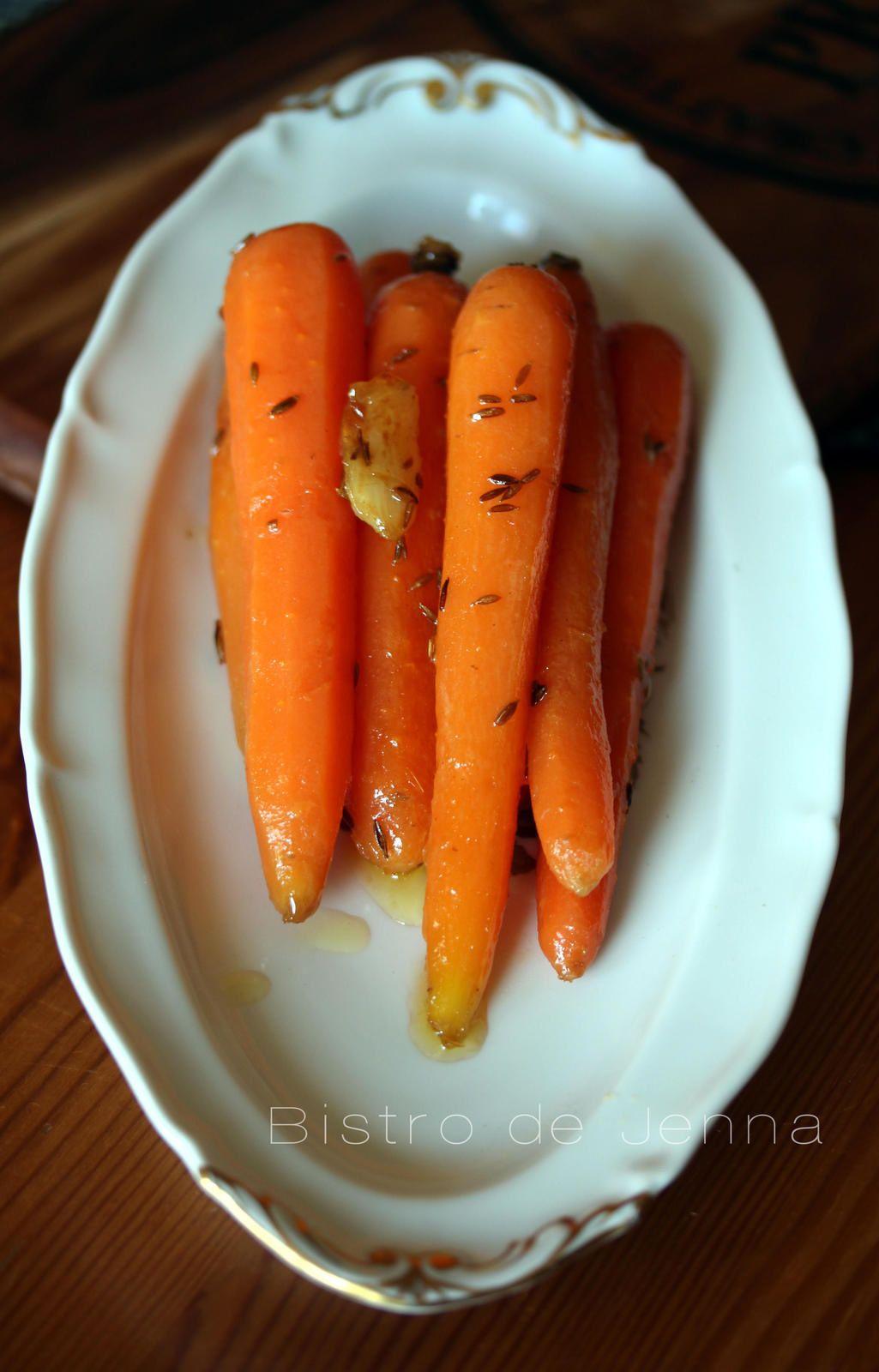 carottes glac es au miel et aux pices food and vegans. Black Bedroom Furniture Sets. Home Design Ideas