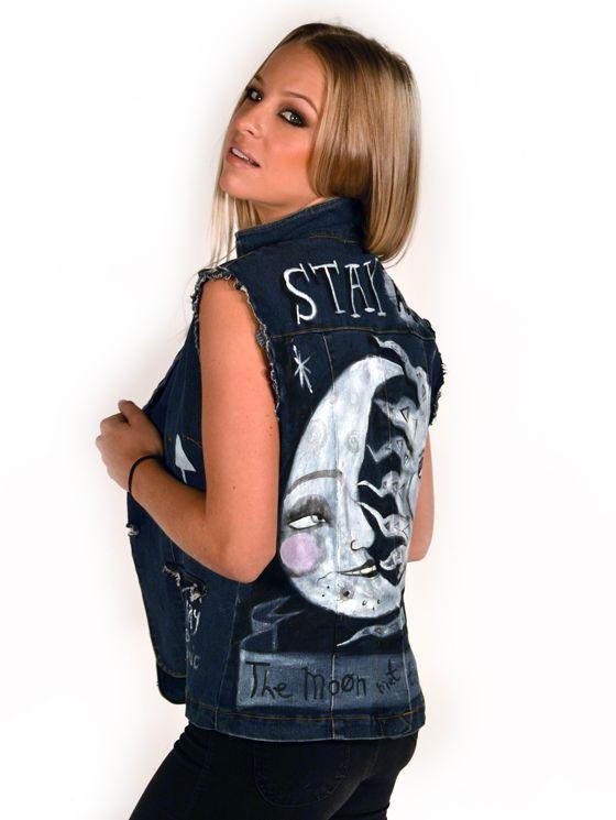 StayAded Custom Jacket sun meets the Moon | OneSkin