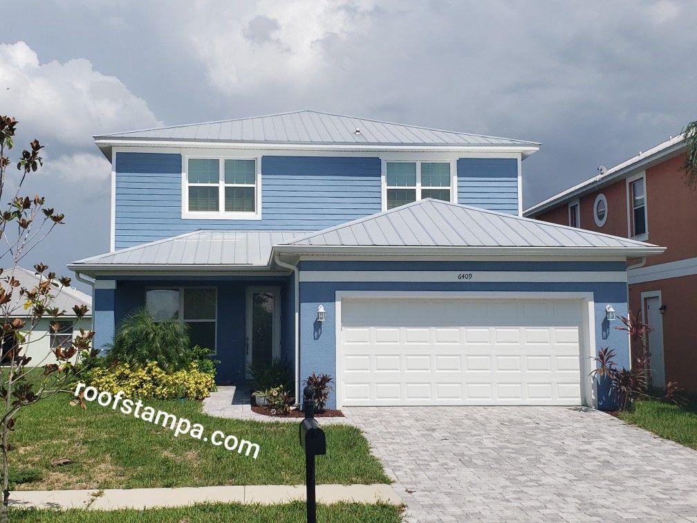 5v Crimp Metal Roof Metal Roof Roofing Companies Roofing